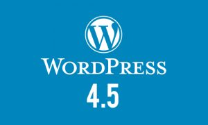 WordPress 4.5 ¡disponible y con novedades!